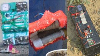 दो वर्षो में तीसरी बार बम से घटना को अंजाम देने की साजिश