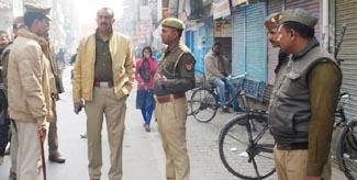 बाजार बंद कराने में पुलिस और हिन्दू महासभा में गोरिल्ला युद्ध