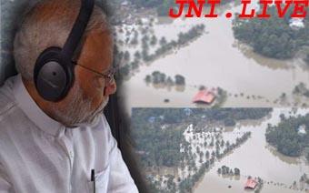 केरल की मदद को PM ने की 500 करोड़ राहत पैकेज की घोषणा