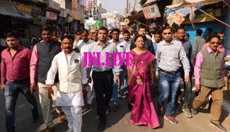 स्वच्छता को लेकर निकाली गई जागरूकता रैली
