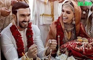 दीपिका रणवीर की शादी की यह आई पहली तस्वीर
