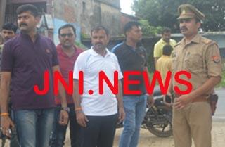 विधुत विभाग कर्मी की पत्नी की चेन लूटी, सीमा विवाद में उलझी रही पुलिस