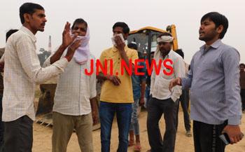 चाँदपुर में मेडिकल बेस्ट और शहर का कूड़ा फेंकने पर हंगामा