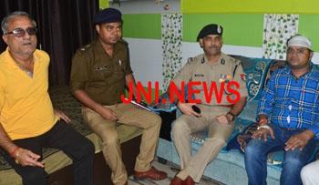 जौनपुर: एसपी कार्यालय के निकट सराफा की दुकान से एक करोड़ से अधिक की लूट