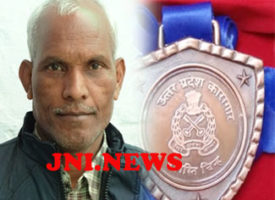 जेल उद्योगों को पंख लगानें में श्रीराम को शासन से मिला सम्मान